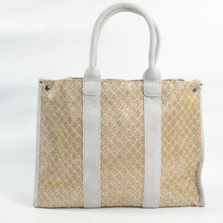 Mila Louise Prudence Blé 1 Sac Shopping Beige Clair dos
