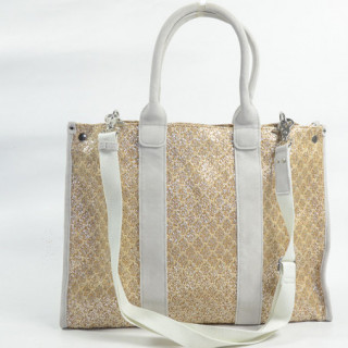 Mila Louise Prudence Blé 1 Sac Shopping Beige Clair dos 4