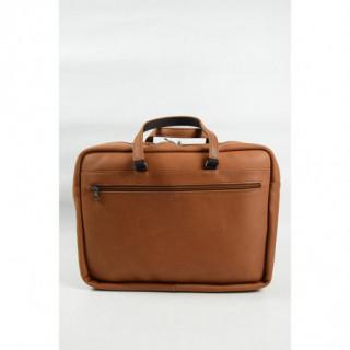cartable ordinateur cuir homme marron