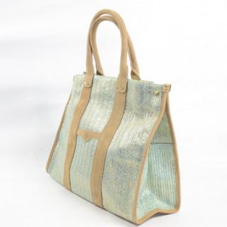 Mila Louise Prudence Blé 2 Sac Shopping Vert