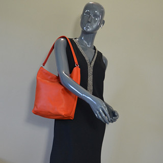 JL Fourès Baroudeuse Shoulder Bag Orange