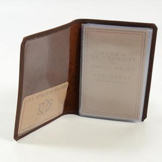 Jean Louis Fourès Baroudeur Porte Papiers Cognac