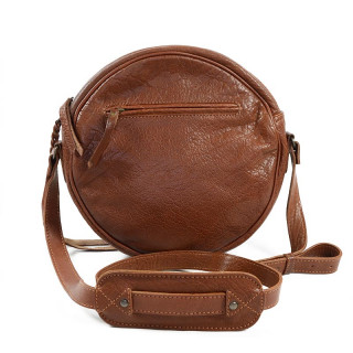 Paul Marius L'Ecrin Crossbody Bag Round Natural