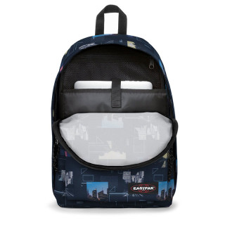 "Eastpak Out Of Office Backpack 15"" c55 Shapes Blue"