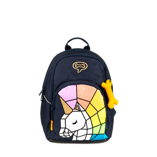 Stone and Bones Laurel Unicorn Indigo Backpack