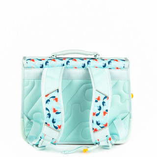 Stones And Bones Cartable 38cm Lily Mermaids Aqua