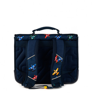 Stones And Bones Cartable 38cm Lily Planes Indigo
