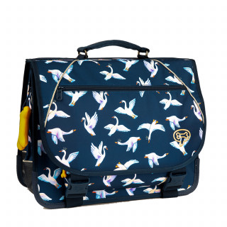 Stones And Bones Cartable 38cm Lily Swans Indigo
