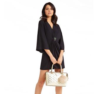 Guess Astrid Iridescent Handbag Gold