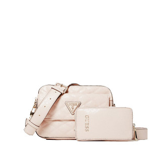 Guess Astrid Crossbody Bag Iridescent Beige