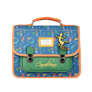 Caméléon Retro Girl Cartable 32cm Dino Blue