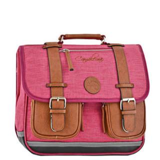 Caméléon Vintage Uni Cartable 35cm Bi Pink