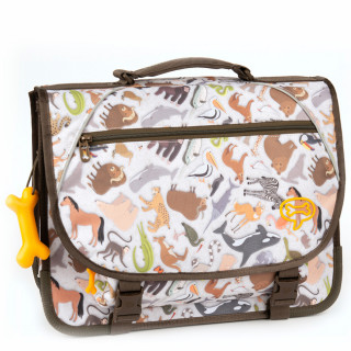Stones And Bones Cartable 38cm Lily ZOO mud