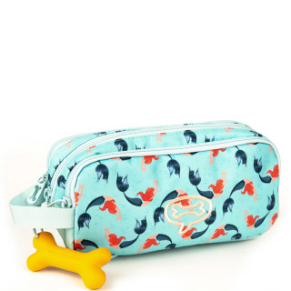 Stones And Bones Trousse 3 Compartiments Mermaids Aqua