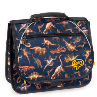 Stones And Bones Cartable 35cm Iris Jurassic Navy
