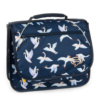 Stones And Bones Cartable 35cm Iris Swans Indigo