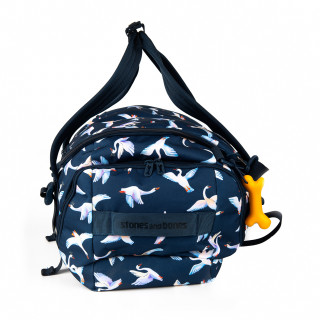 Stones And Bones Weekend Bag and Daisy Swans Indigo Sports Bag