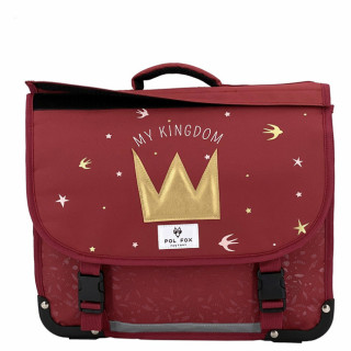 Pol Fox Cartable Reversible 35cm My Kingdom