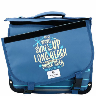 Pol Fox Cartable Reversible 35cm Surf Spirit