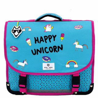 Pol Fox Bagable 38cm Happy Unicorn