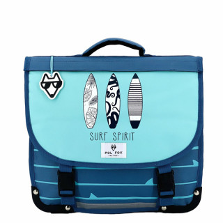 Pol Fox Reversible Cartable 38cm Surf Spirit