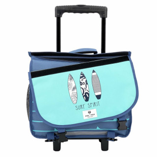 Pol Fox Trolley Reversible Cartable 38cm Surf Spirit