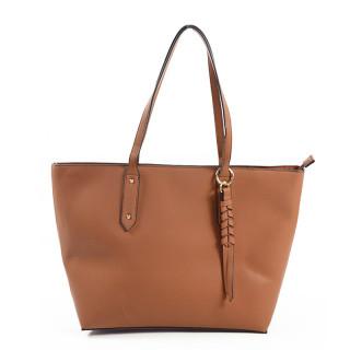 sac shopping femme camel farfouillette