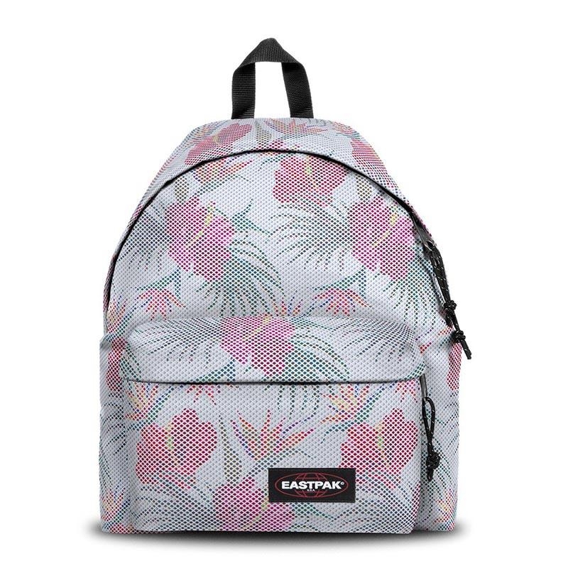 Eastpak Padded Back Pack Pak'R b14 mesh White Hibiscus
