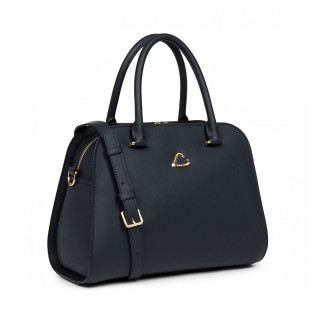 Lancaster City Philos Handbag 523-80 Dark Blue