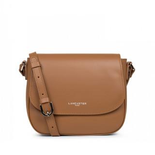 Lancaster Smooth Crossbody Bag 437-15 Hazelnut