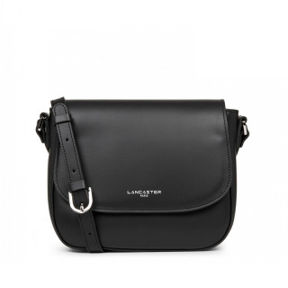 Lancaster Smooth Shoulder Bag 437-15 Black