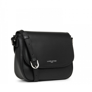 Lancaster Smooth Crossbody Bag 437-15 Black