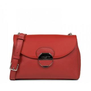 Lancaster Foulonne Pia Shoulder Bag 547-60 Red