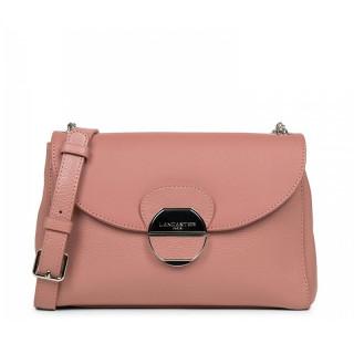 Lancaster Foulonne Pia Shoulder Bag 547-60 Pink Ashes