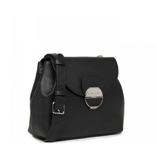 Lancaster Foulonne Pia Shoulder Bag 547-61 Black