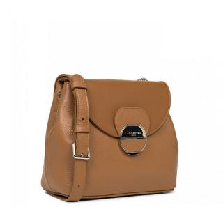 Lancaster Foulonne Pia Shoulder Bag 547-61 Camel