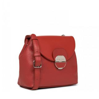 Lancaster Foulonne Pia Shoulder Bag 547-61 Red