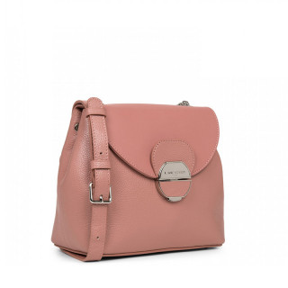 Lancaster Foulonne Pia Shoulder Bag 547-61 Pink Ashes