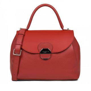 Lancaster Foulonne Pia Large Shoulder Bag 547-63 Red