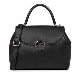 Lancaster Foulonne Pia Large Shoulder Bag 547-63 Black