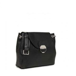 Lancaster Foulonne Pia Large Shoulder Bag 547-64 Black