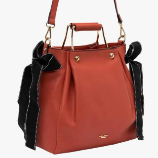 Lollipops Giulia Sac Cabas Ruban Orange Doré