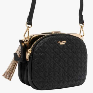 Lollipops Glory Sac Bandoulière Multipocket Noir Doré