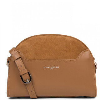 Lancaster Vendôme Moon Crossbody Bag Half Moon 432-49 Camel