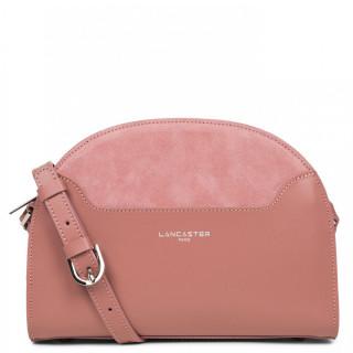 Lancaster Vendôme Lune Half Moon Shoulder Bag 432-49 Pink Ashes