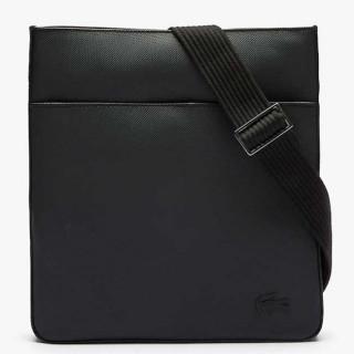 Lacoste Classic Men's Sacoche Plate Verticale Black