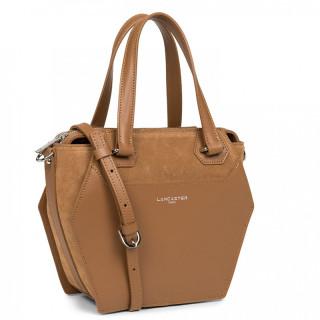 Lancaster Vandôme Ruche Shoulder Bag 432-52 Camel