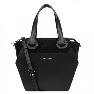 Lancaster Vandôme Ruche Shoulder Bag 432-52 Black