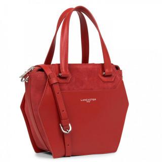 Lancaster Vandôme Ruche Shoulder Bag 432-52 Red