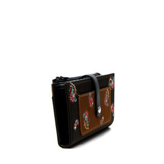 Desigual Bindi Paisley Rectangular Wallet Caqui